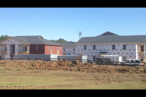 Construction is currently ongoing at Brighton Village and the Mark on Old Taylor Road in Oxford.