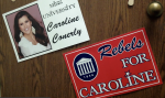 Ole Miss Rebels support Caroline Conerly. Photo by Chandler Clarkson, Nov. 11, 2013.