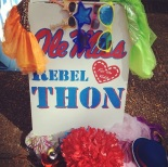 The RebelTHON Committee had a Spirit Week filled with fundraisers.  Photo by: Anna Baskin
